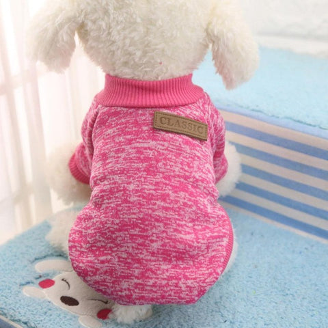 Image of Hot Sale Pet Dog Clothes For Small Dogs - Hot Pink / L - Pet Products