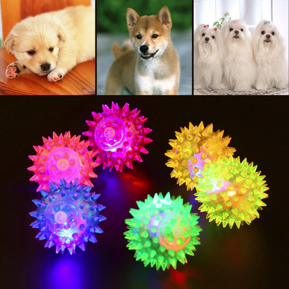 Flashing Light Up For Lovely Dog Puppies - Pet Products