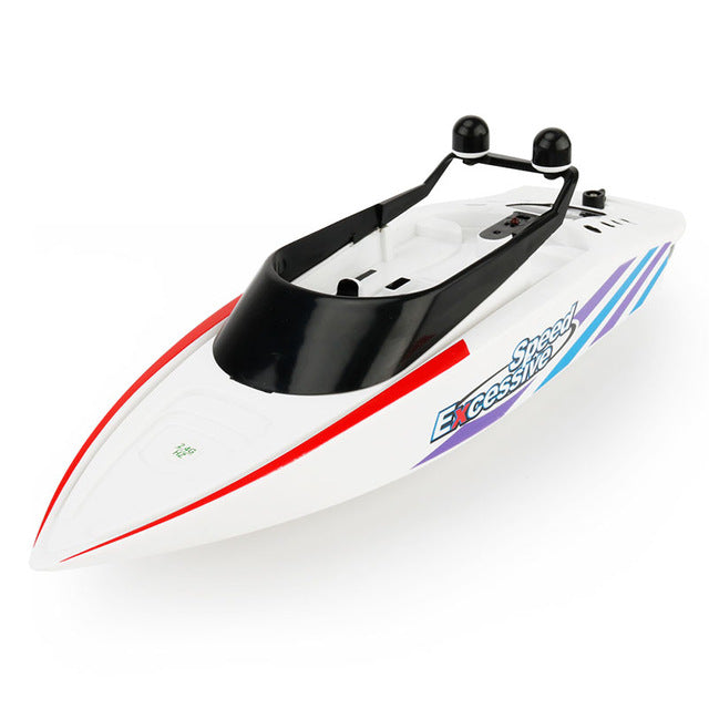 Remote Control Boat Yacht Model - Electronic Toys Gift - White