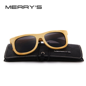 MERRY'S DESIGN Bamboo Sunglasses