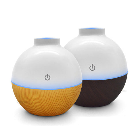 Image of Usb Ultrasonic Humidifier 130Ml Aroma Diffuser - Gadgets