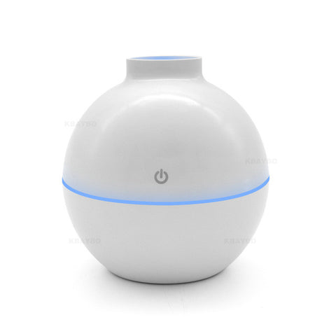 Image of Usb Ultrasonic Humidifier 130Ml Aroma Diffuser - White / China - Gadgets