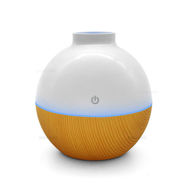 Usb Ultrasonic Humidifier 130Ml Aroma Diffuser - Light Wood / China - Gadgets