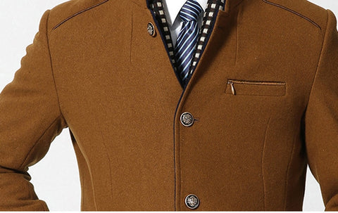 Image of Thicker Mens Trench Coats - Fashionmen