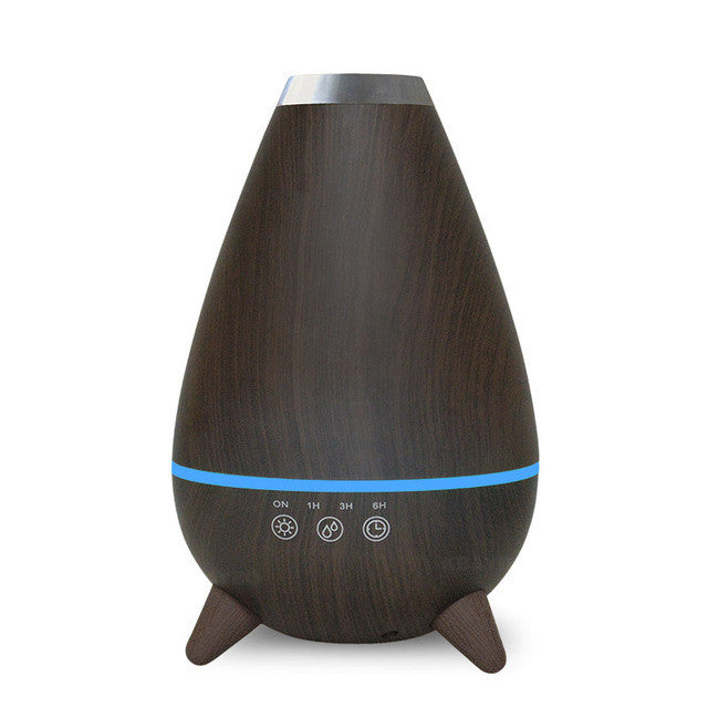 ultrasonic mist maker air humidifier atomizer - Dark Wood / China / Au - Gadgets