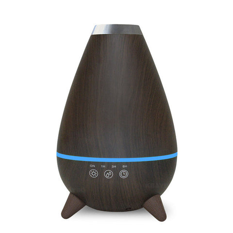 Image of ultrasonic mist maker air humidifier atomizer - Dark Wood / China / Au - Gadgets