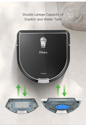 Image of Dibea D960 Robot Vacuum Cleaner
