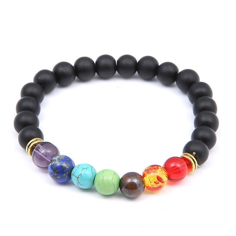 Image of Fashion Universe Galaxy The Eight Planets Solar System Guardian Star Natural Stone Beads Bracelet Bangle For Women Men Gift - 8 - Jewelry