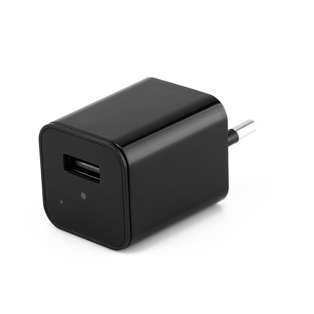 Hd 1080P Hidden Camera Usb Wall Charger Wireless Home Security Covert Camcorder Adapter Support Max 32Gb Tf Card (Not Included Sd Card) - Uk