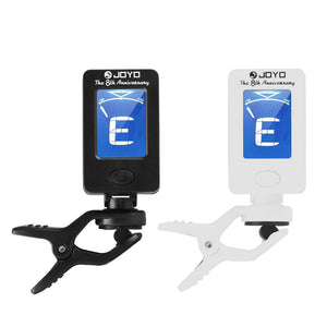 Electronic Tuner Clip On Chromatic Tuner Guitar Bass Banjo Ukulele Violin Oud Tuner Jt-01 Joyo - Guitar