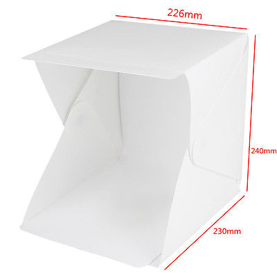 Image de Hot Studio de sélection portable Mini Photo Studio Photographie Tente de pliage Kit de boîte à lumière pliante Toile de fond Boîte de cubes Salle lumineuse Salle de jeux 9 Softbox - Gadgets