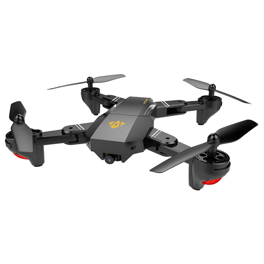 Xs809 2.4Ghz 4Ch 6-Axis Gyro Pocket Mini Selfie Foldable Drone Rc Drone Quadcopter Wifi Fpv 0.3 Mp Camera Altitude Hold Rtf - Drone