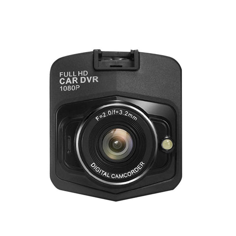 Image of Full Hd 1080P Car Dvr G-Sensor Camera Dash Cam Video Registrator Recorder Cycle Recording Night Vision Camcorder For Car - Black - Gadgets
