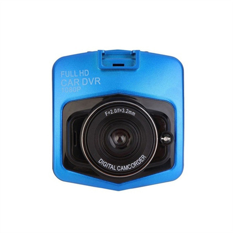 Full Hd 1080P Car Dvr G-Sensor Camera Dash Cam Video Registrator Recorder Cycle Recording Night Vision Camcorder For Car - Blue - Gadgets