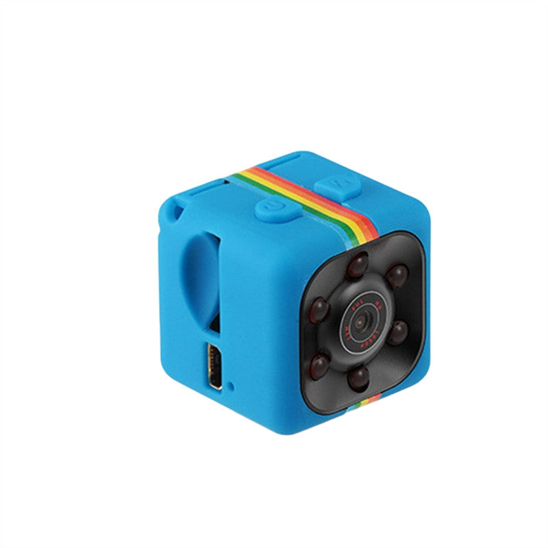 Night Vision 1080P Resolution Portable Mini Camera - Blue - Gadgets