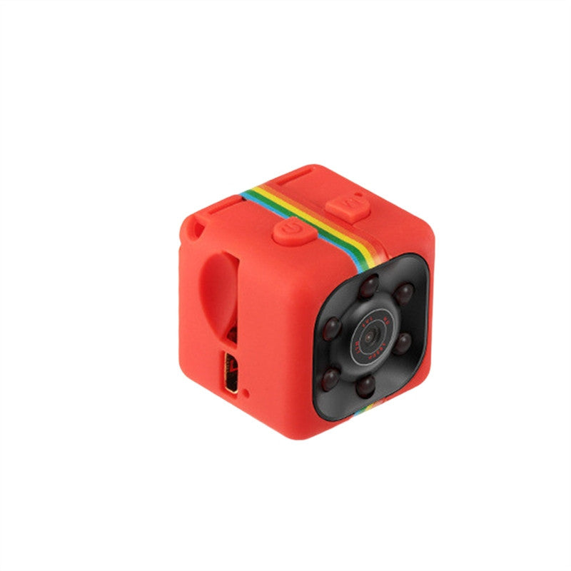 Night Vision 1080P Resolution Portable Mini Camera - Red - Gadgets