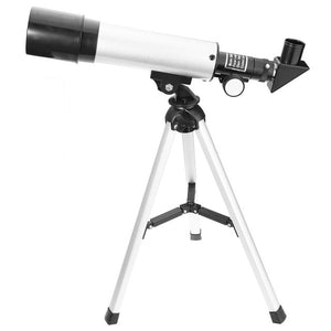 60X 18X 1.5X 90X 27X Astronomical Telescope Landscape Lens Single-tube Telescope with 2 Eyepieces Tripod for Beginners 2017
