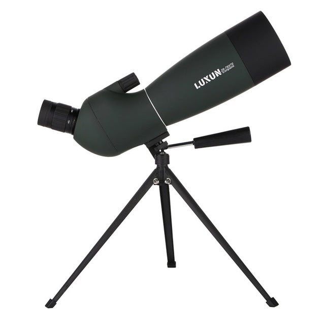 Monocular Telescope High Clarity Large Aperture Observation Waterproof Green Film Telescope Hd Outdoor Spotting Zoom Scope - 25-75X70 /