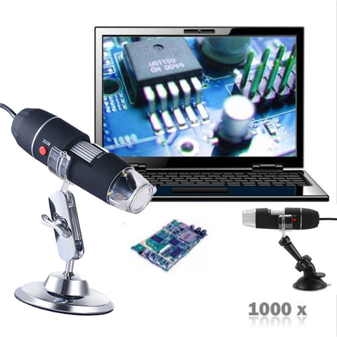 portable usb digital microscope camera