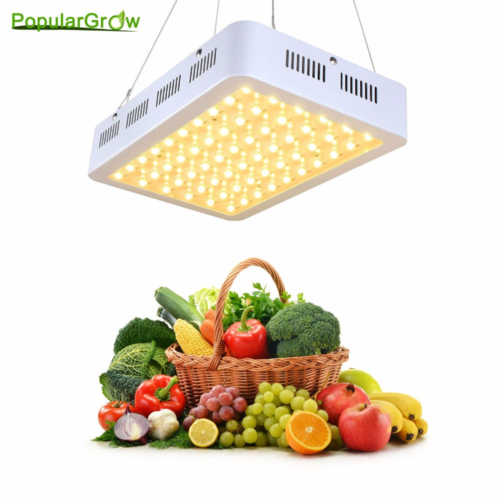 Populargrow 5W Series Full Spectrum 300W Led Grow Lights For Hydroponics Indoor Greenhouse Grow Tent Box Led Lamp A Best Seller - Hydroponic