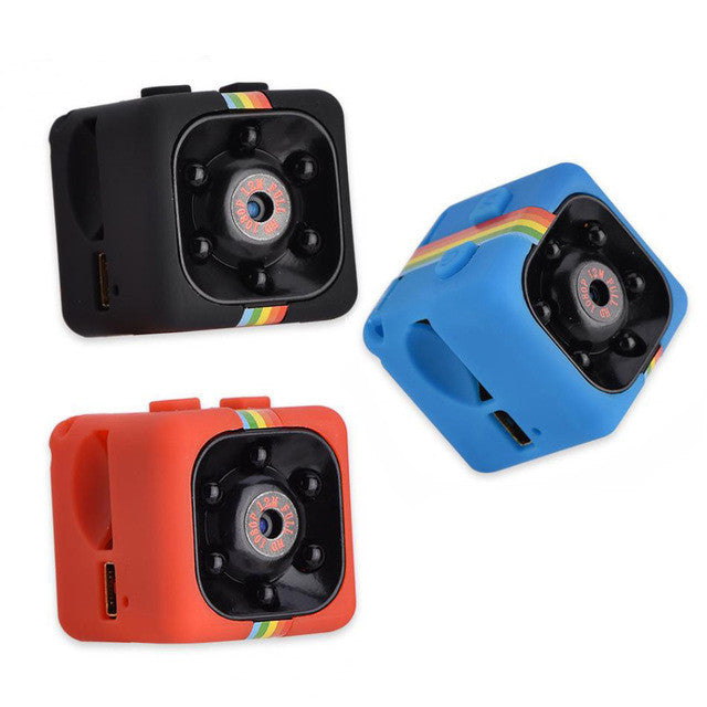 Night Vision 1080P Resolution Portable Mini Camera - Gadgets