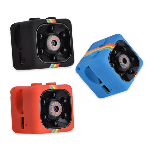 Image of Night Vision 1080P Resolution Portable Mini Camera - Gadgets