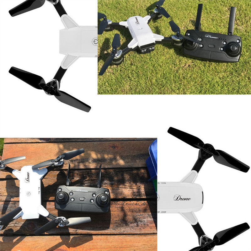 JDRC JD-20 JD20 WIFI FPV With Wide Angle HD Camera High Hold Mode Foldable Arm RC Quadcopter RTF VS JD-11 Drone