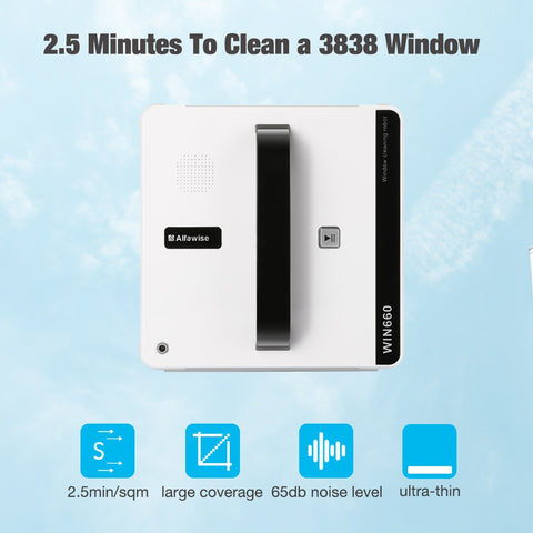 Image of Alfawise WIN660 Robotic Window Cleaner