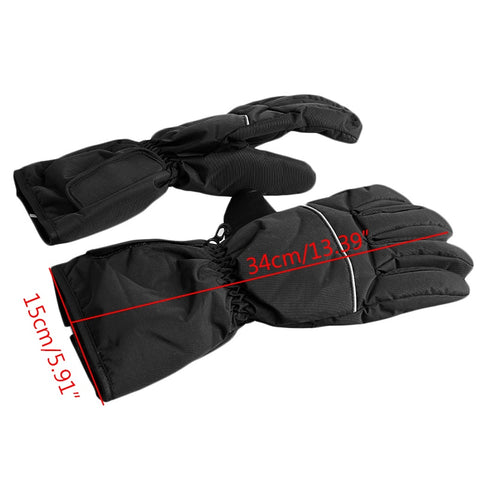 Image of Waterproof Heated Gloves Battery Powered