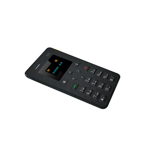 Cell Phone - Pocket Mobile Phone With Low Radiation - Black - Cellphone