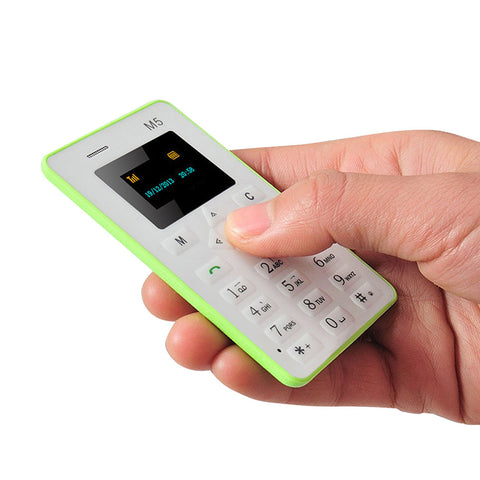 Cell Phone - Pocket Mobile Phone With Low Radiation - Green - Cellphone