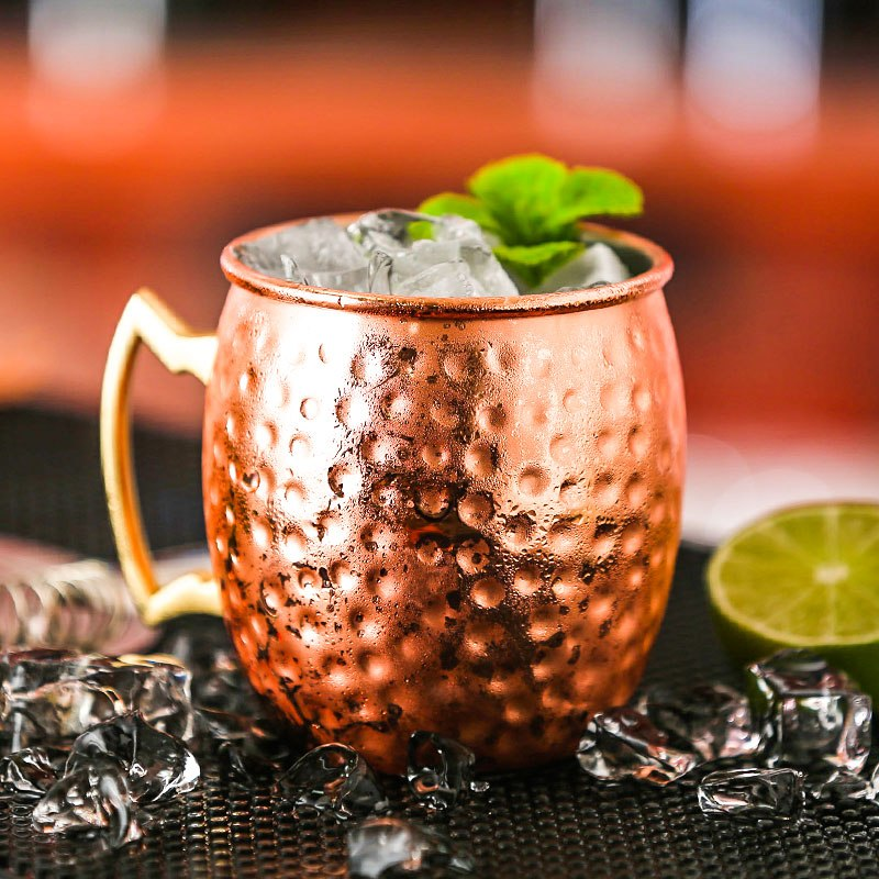 Hammered Copper Plated Moscow Mule - Gadgets