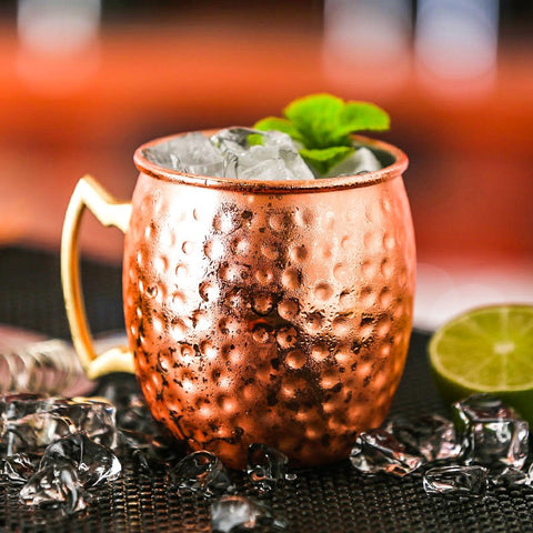 Image of Hammered Copper Plated Moscow Mule - Gadgets