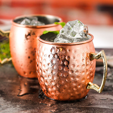 Image of Hammered Copper Plated Moscow Mule