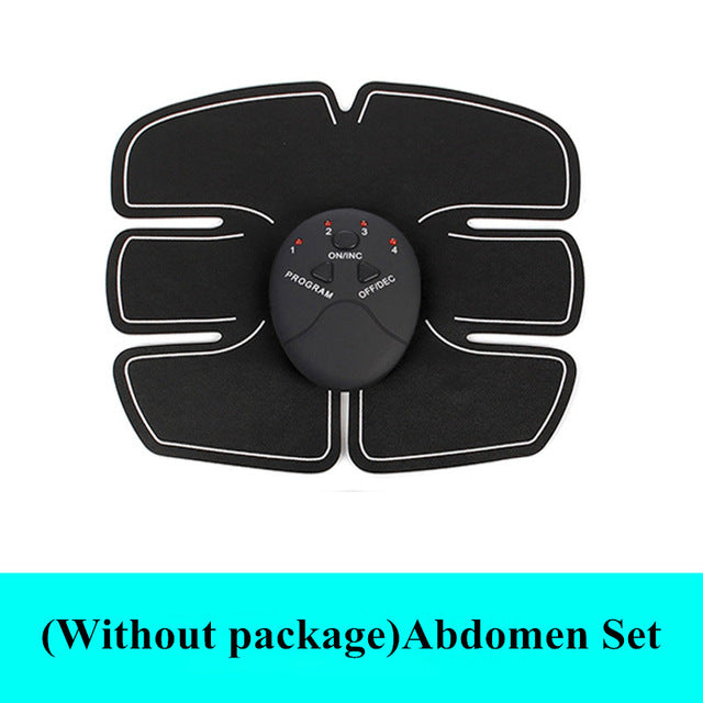 Wireless Muscle Stimulator Ems Stimulation Body Slimming Beauty Machine Abdominal Muscle Exerciser Training Device Body Massager - One Set