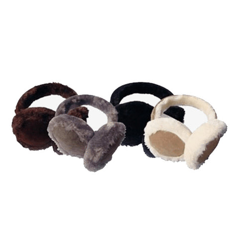 Image of Womens Faux Fur Insulated Winter Ear Muffs - Fashionwomen