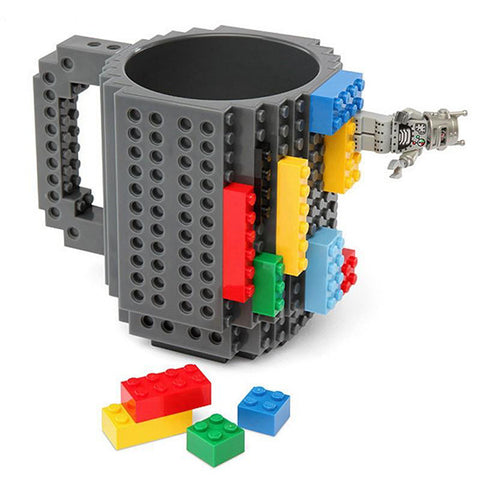 Image of The compatible Build-On Brick Mug