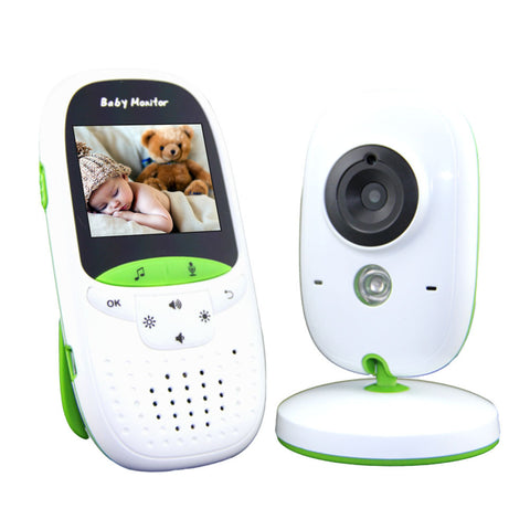 Audio Video Baby Monitor With Security Camera