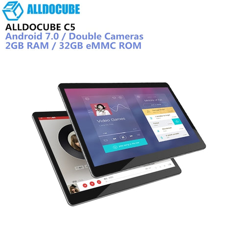 ALLDOCUBE C5 4G Phablet 9.6 Inch Android 7.0 MTK6737 1.3GHz 2GB+32GB Dual SIM Cards Front Rear Double Cameras Tablets PC