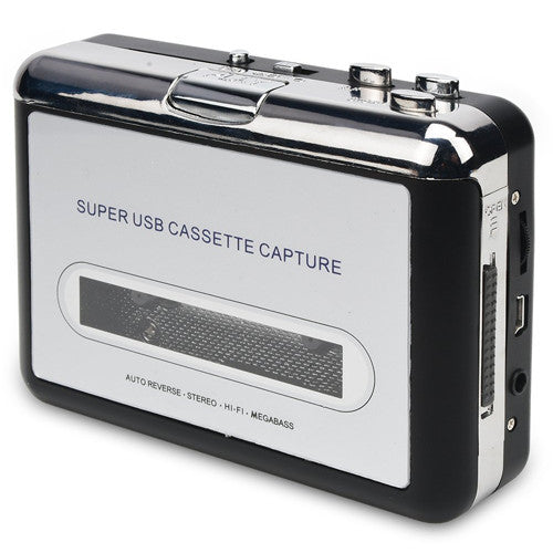 Mini Usb Audio Cassette Tape Converter To Mp3 Cd Player Pc - Gadgets
