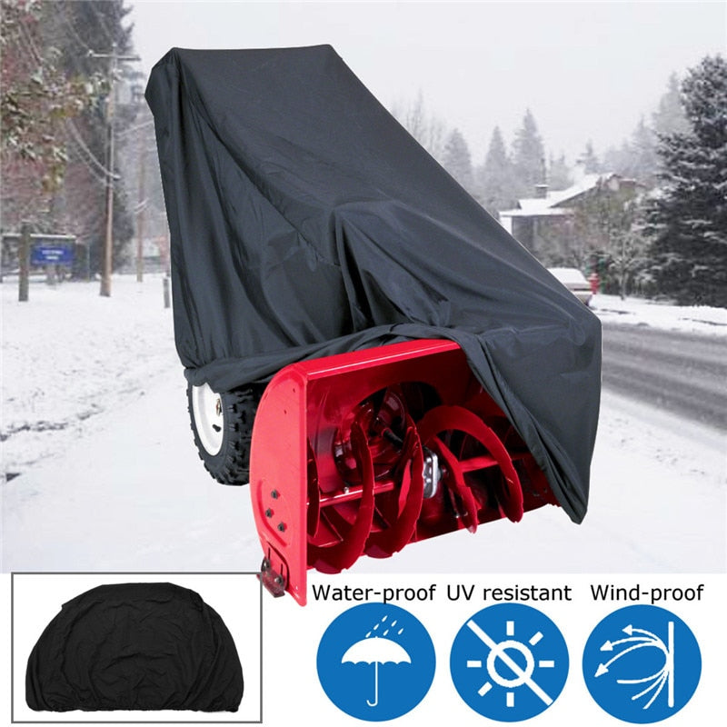 Windproof Snow Blowers Covers For Northern Countries - Gadgets