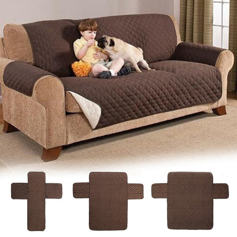 Image of Waterproof Quilted Sofa Covers for Pets