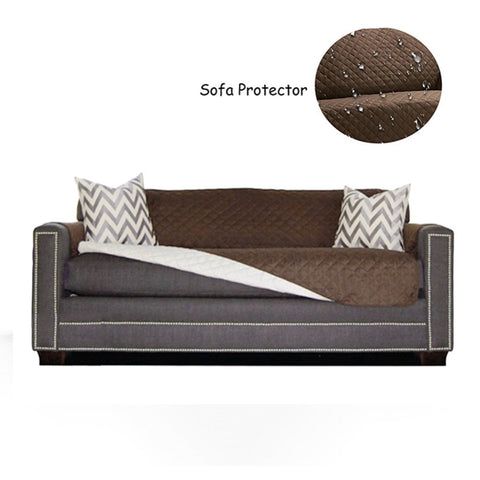 Image of Waterproof Quilted Sofa Covers For Pets - Gadgets
