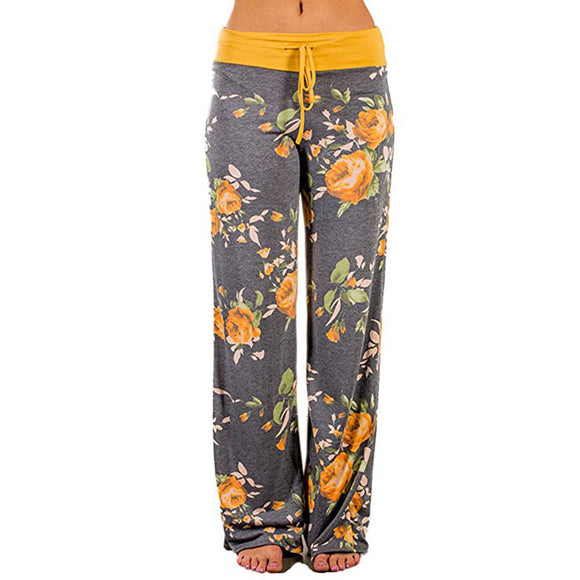 Womens Palazzo Wide Leg Lounge Pants