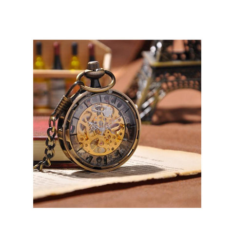Image of Royal London Antique Gold Pocket Watch - Jewelry