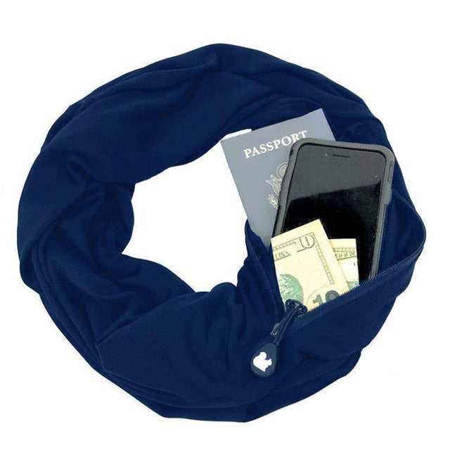 Pocket Loop Scarf - E - Gadgets