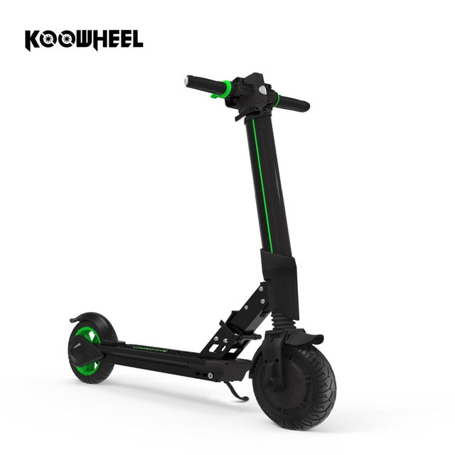 Koowheel - Foldable Electric Scooter For Adults And Kids - Black - Scooter