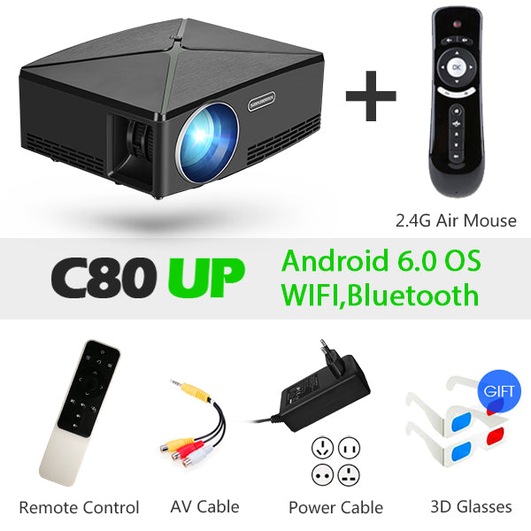Aun Mini Projector - Australia / C80 Up-Fs - Gadgets
