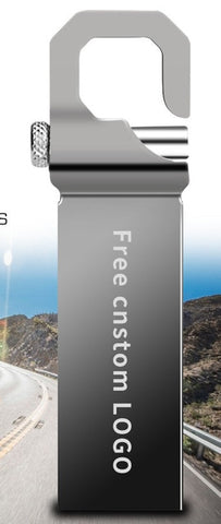 Image de Lecteur flash USB 16Gb / 8Gb / 4Gb / 128Gb - 128Gb / Grey - Gadgets