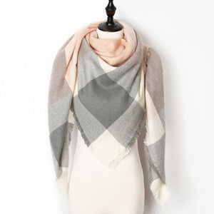 Cashmere Winter Women Scarf - Fashionwomen